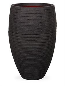 Кашпо Capi nature row nl vase vase elegant deluxe black (Capi Europe)
