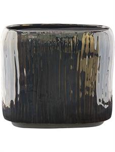 Кашпо Indoor pottery planter thirza cognac (Nieuwkoop Europe)