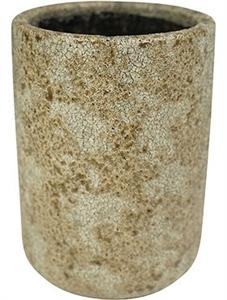 Кашпо Indoor pottery pot high thirza cognac (Nieuwkoop Europe)