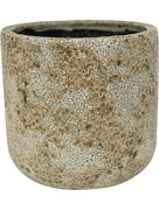 Кашпо Indoor pottery pot thirza cognac (Nieuwkoop Europe)