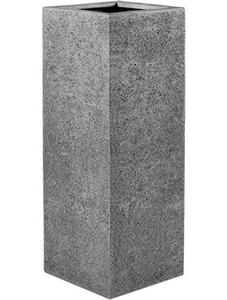 Кашпо Struttura high cube light grey (Nieuwkoop Europe)
