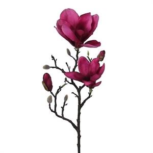 Ветка магнолия вишневая (искусственная) GL