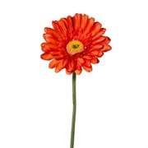 Гербера оранжевая (искусственная) GL