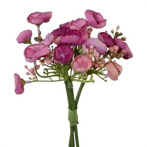 Гортензия дикая темно-розовая 3 шт. (искусственная) GL