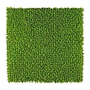 Коврик из листьев L100 W100 H5 см зелёный (искусственная) GL