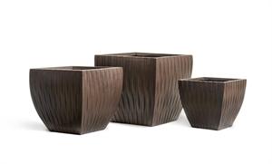 Кашпо Treez Ergo Wood Трапеция-чаша венге