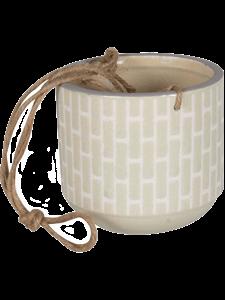 Кашпо Bandeau hanging pot creme (Nieuwkoop Europe)