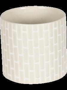 Кашпо Bandeau creme (Nieuwkoop Europe)