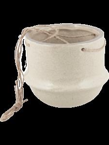 Кашпо Hurl hanging pot creme (Nieuwkoop Europe)