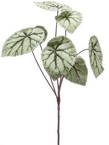 Бегония ветвь с серыми листьями (искусственная) Nieuwkoop Europe