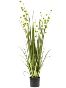 Трава с зелёными цветами (искусственная) Nieuwkoop Europe