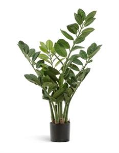 Замиокулькас кустовой малый 6 веток (искусственный) Treez Collection