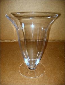 Ваза стеклянная D25 H36 см