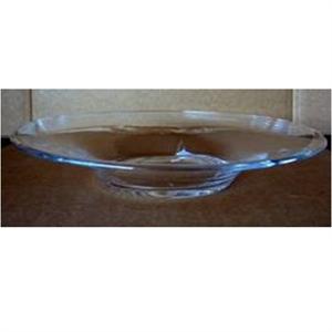 Ваза стеклянная Блюдо D46 H8 см