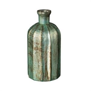 Ваза стеклянная Ало Бутылка D10 H23 cм