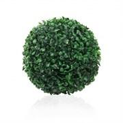 7143/А27100-01(Promo) Шар самшитовый d22см (темно-зеленый