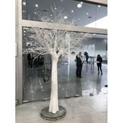 300разб/Пр/173 Дерево заснеженное h300см(шир-170см)
